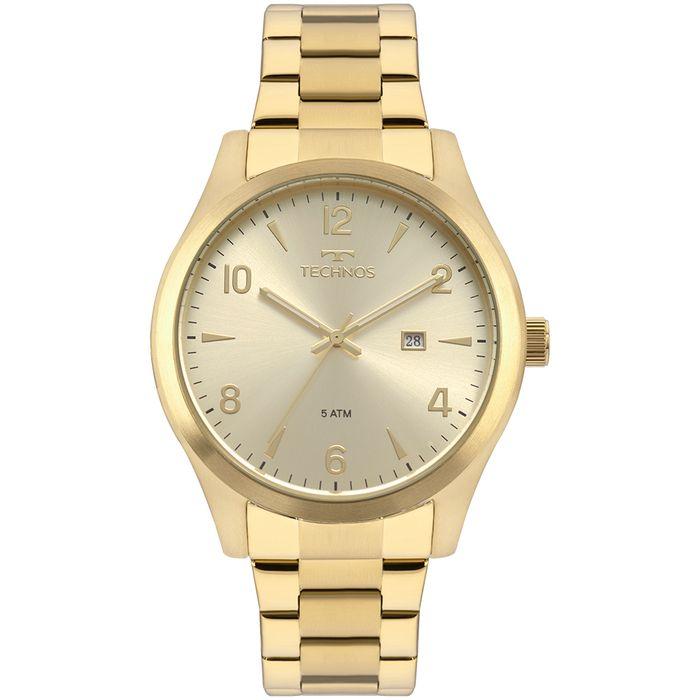 Relógio Technos Masculino Steel Dourado 2115MRC 4X technos ab7f20e9cd