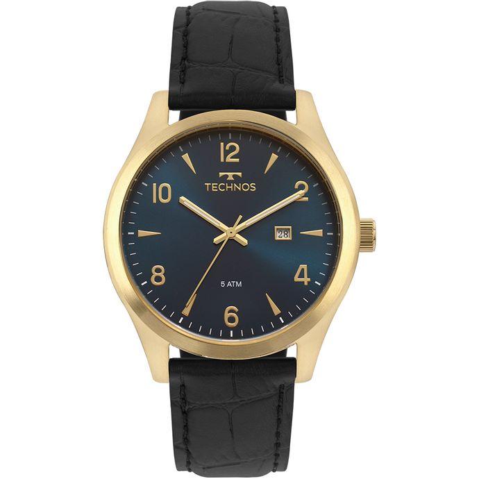 78ebdfb365b20 Relógio Technos Masculino Steel Dourado 2115MRX 2A