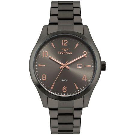 Relógio Technos Masculino Steel Grafite 2115MRY/4C