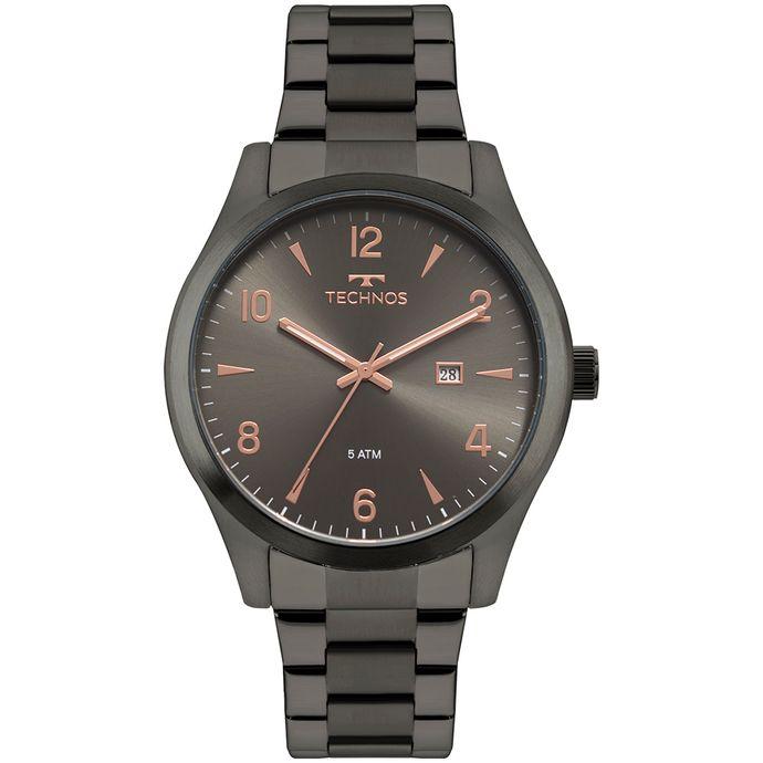 Relógio Technos Masculino Steel Grafite 2115MRY 4C c0b58601f8