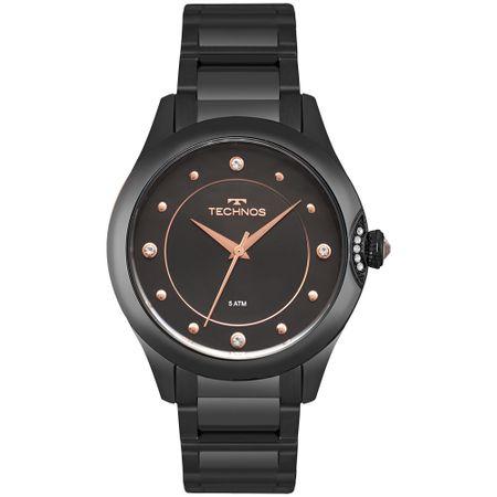 Relógio Technos Feminino Crystal Preto 2035MPZ/5P