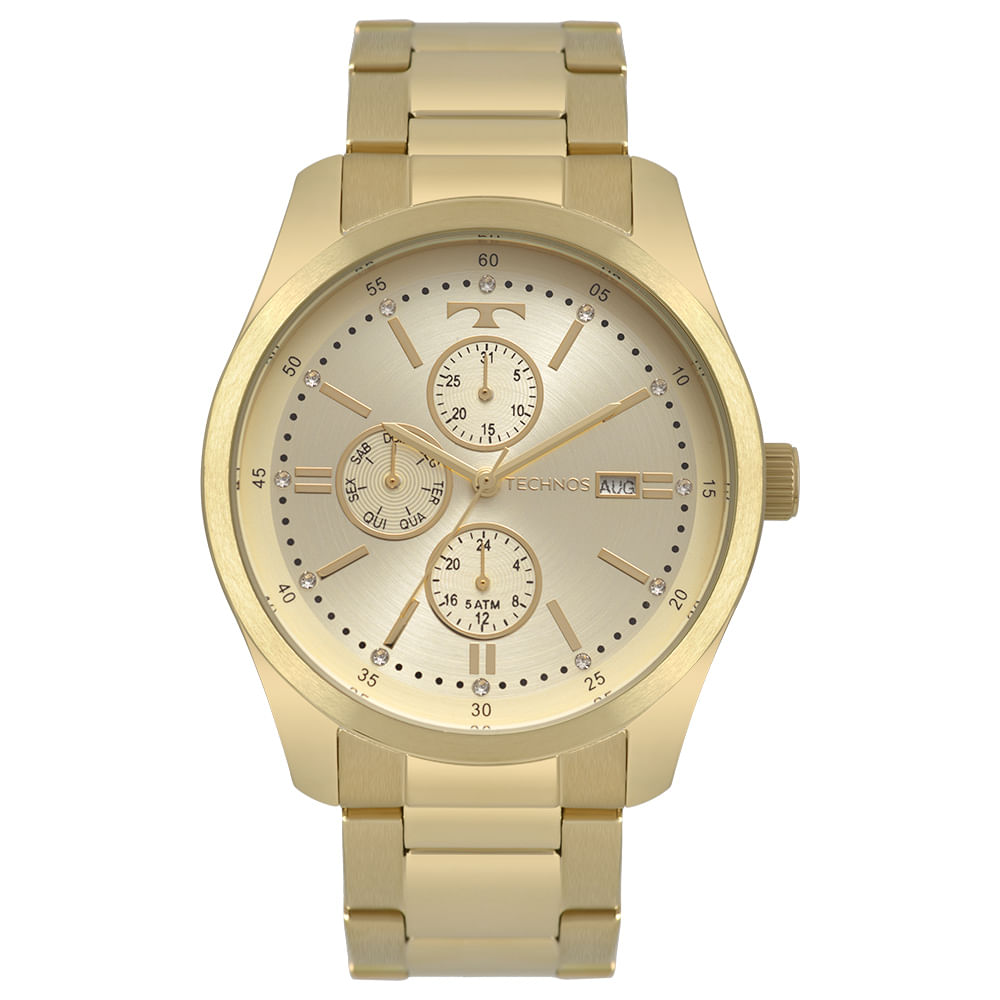 26f8e2082 Relógio Technos Feminino Trend Dourado 6P89HY/4X - technos