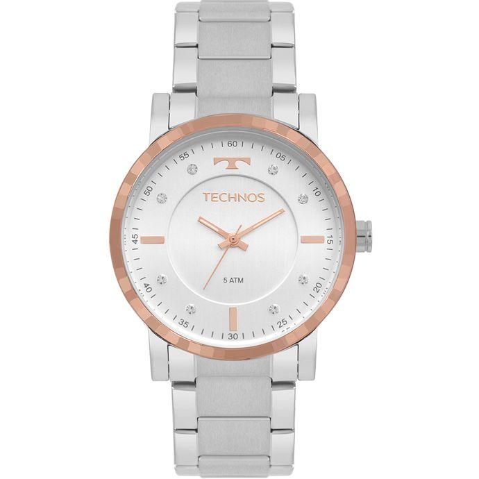 Relógio Technos Feminino Trend Bicolor 2036MJP 1C 051517288f
