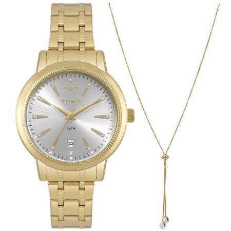 Relógio Technos Feminino Trend Dourado 2115MRS/K4K