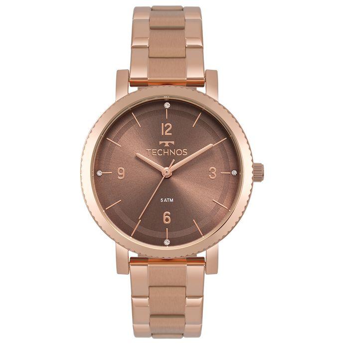 1be33ba4bde Relógio Technos Feminino Dress Rosé 2035MPT 4M. R  319 ...