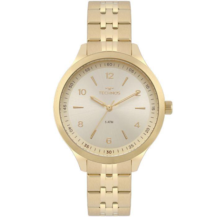Relógio Technos Feminino Dress Dourado 2035MOT 4X - technos f4e0c155bc