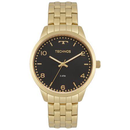 9256cd4800 Relógio Technos Feminino Dress Dourado 2035MPJ 4P