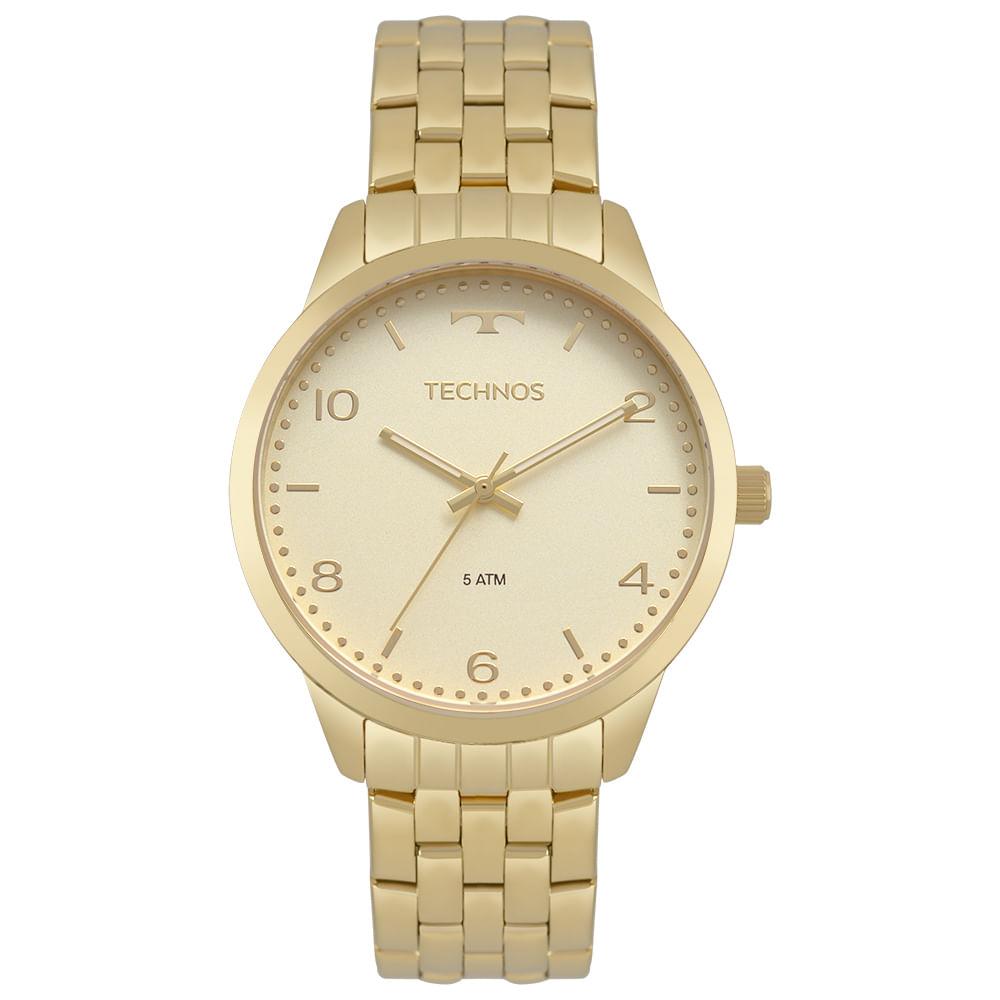 43975de5897 Relógio Technos Feminino Dress Dourado 2035MPJ 4X - timecenter