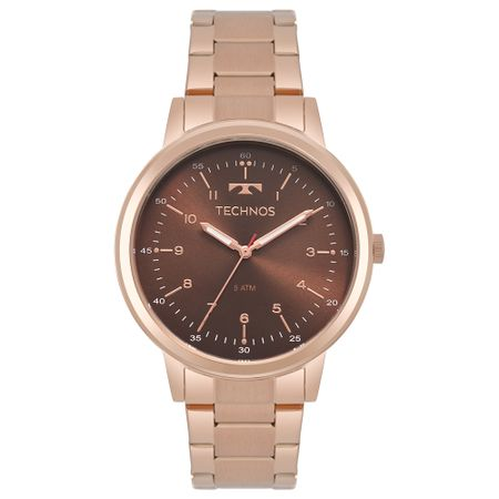 Relógio Technos Feminino Dress Rosé 2035MPP/4M