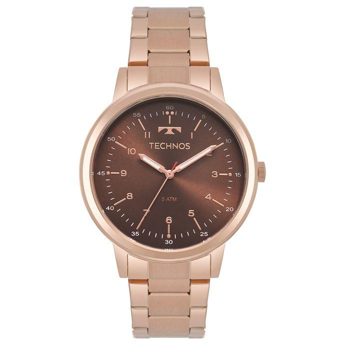 1f6fd3f505f Relógio Technos Feminino Dress Rosé 2035MPP 4M