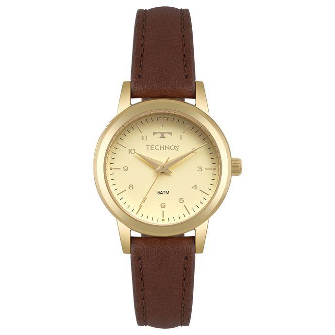 Relógio Technos Feminino Boutique Dourado 2035MOW 2X 23850b2b90