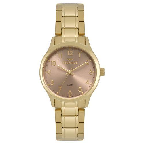 0d14dd12694 Relógio Technos Feminino Boutique Dourado 2035MPF 4T - timecenter