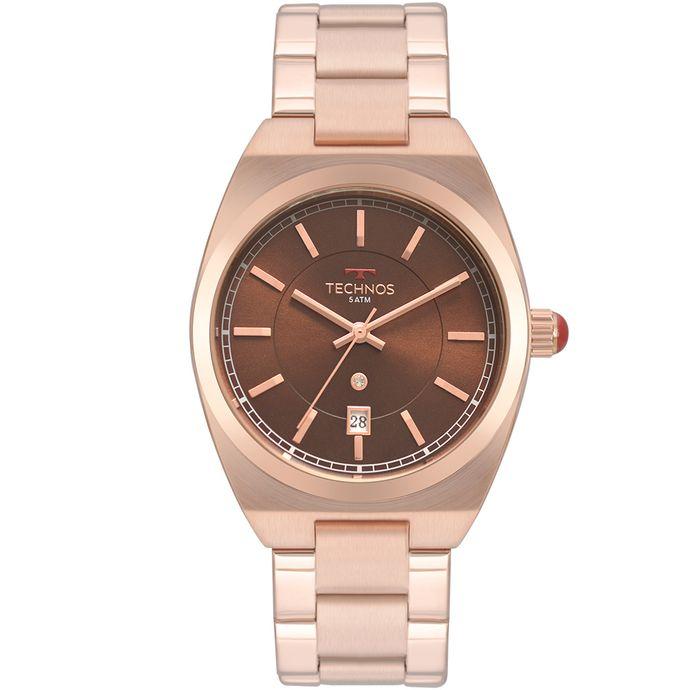 Relógio Technos Feminino Trend Rosé 2117LAU 4M 45cb8754b1