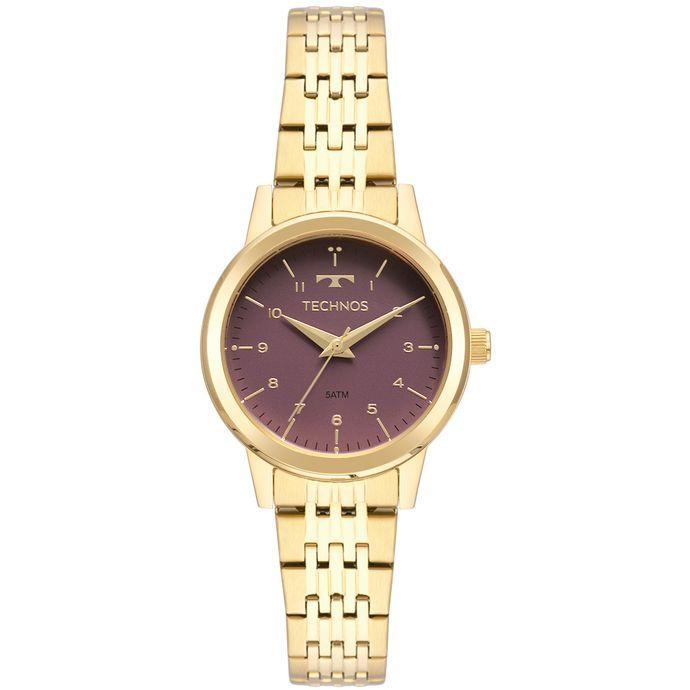 af863de640a Relógio Technos Feminino Boutique Dourado 2035MOX 4N