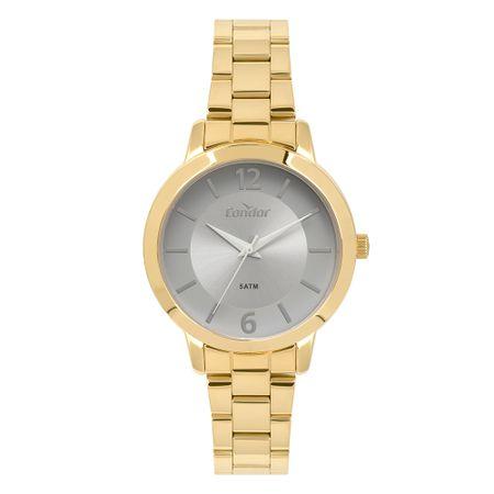 Relógio Condor Feminino Top_Fashion Dourado CO2035KYZ/4C