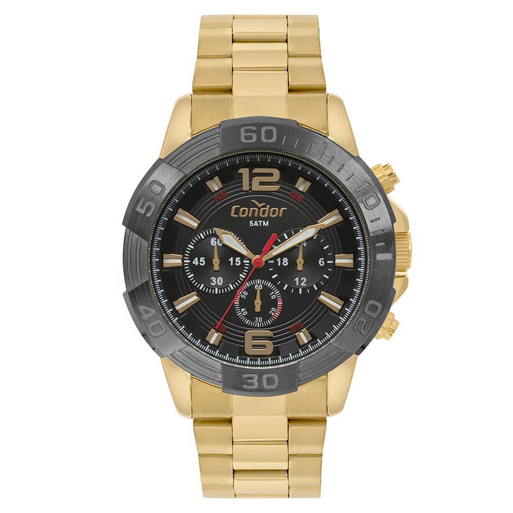 a8fd45042fd Relógio Condor Masculino Civic Bicolor COVD54AY 4P - timecenter