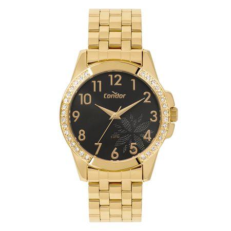 Relógio Condor Feminino Top_Fashion Dourado CO2035MOZ/K4P