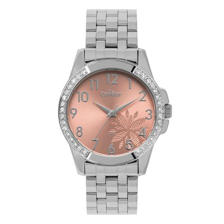 Relógio Condor Feminino Top_Fashion Prata CO2035MPA/K3T