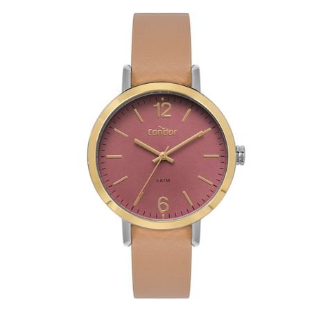 Relógio Condor Feminino Bracelete Dourado CO2035KYS/K2T