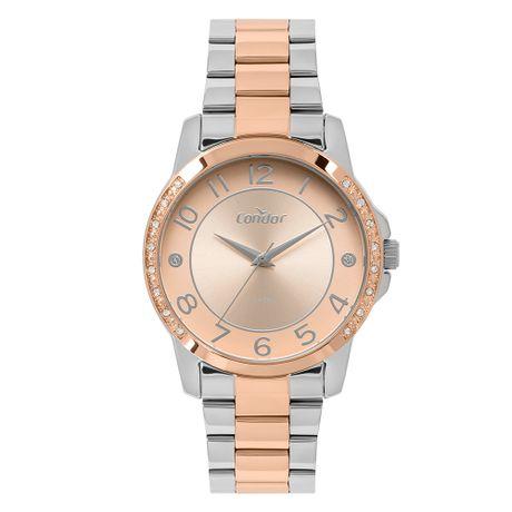 1d451dccdd3 Relógio Condor Feminino Bracelete Bicolor CO2035MOQ 5J
