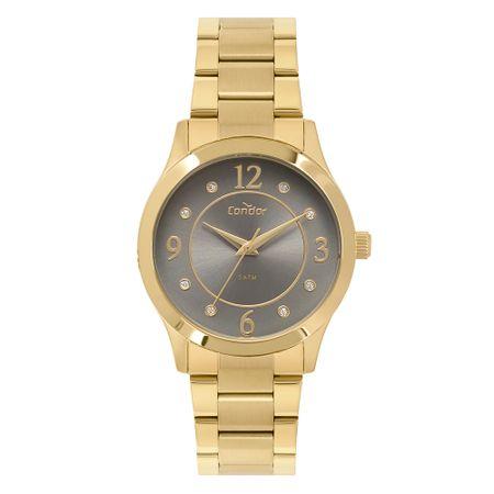 Relógio Condor Feminino Bracelete Dourado CO2036KVB/K4C