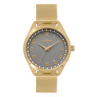 1b429b4ebc3a5 Relógio Condor Feminino Bracelete Dourado CO2035MOX 4C