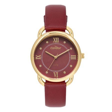 Relógio Condor Feminino Bracelete Dourado CO2035MPP/2R