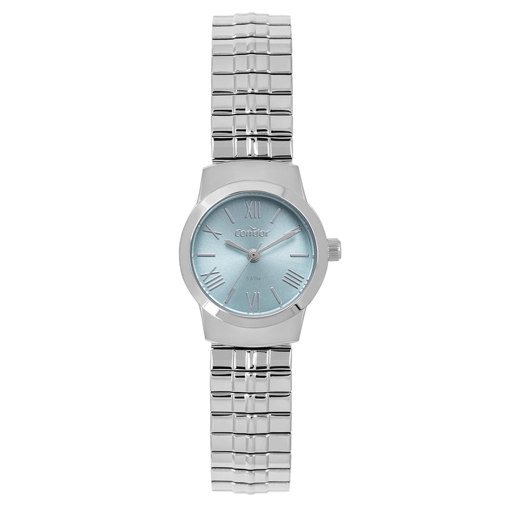 eccab8927da Relógio Condor Feminino Mini Prata CO2035MPL 3A - timecenter