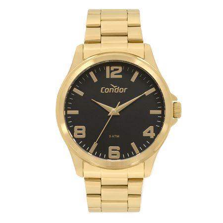Relógio Condor Masculino Metal Dourado CO2035MPI/K4P