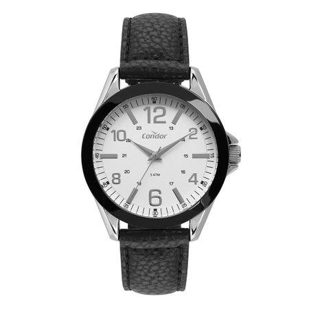 Relógio Condor Masculino Couro Bicolor CO2035KYM/2B