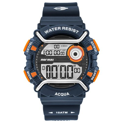 efa7765b8ff Relógio Mormaii Masculino Acqua Azul MONXE 8L - timecenter