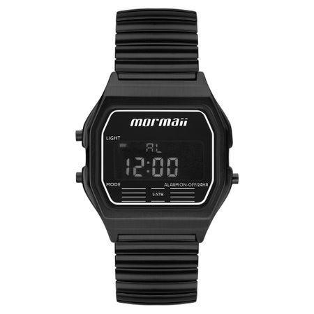 Relógio Mormaii Unissex Vintage Preto MOJH02AW/4P