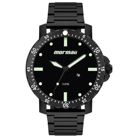 Relógio Mormaii Masculino Interestelar Preto MO2115BH/4P
