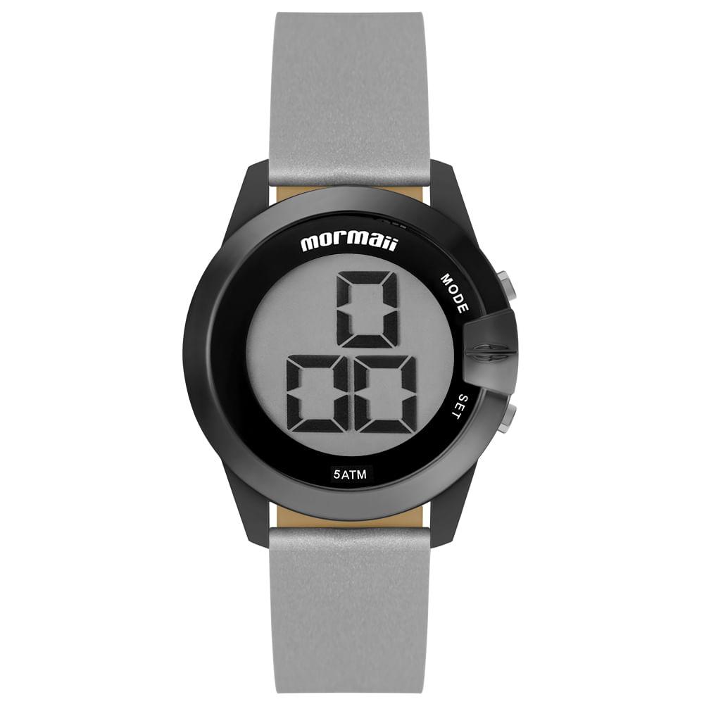 0432a695a7aab Relógio Mormaii Feminino Interestelar Grafite MO13001C 8P - timecenter