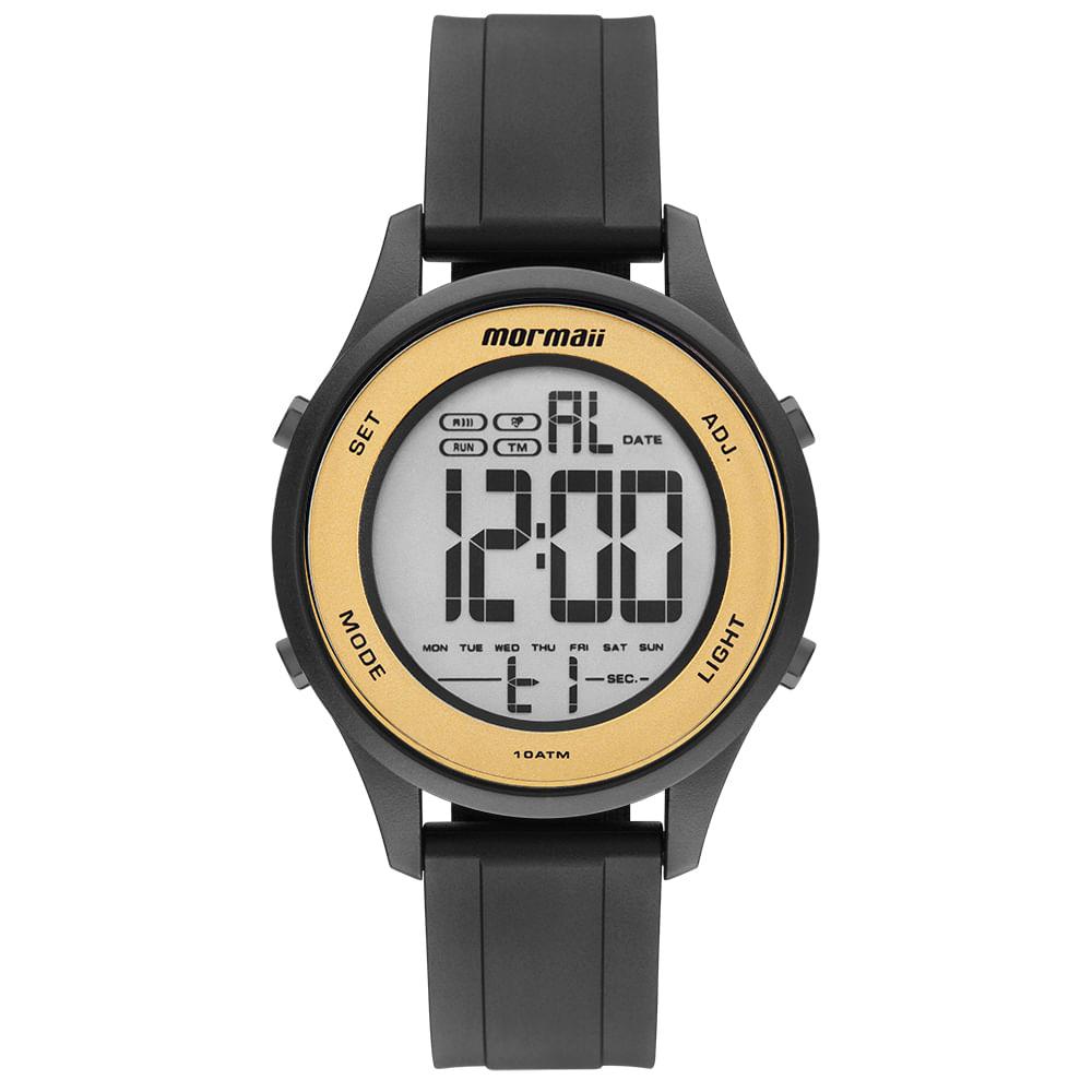 9cea6e3ff9a Relógio Mormaii Feminino Wave Preto MO6200 8D - timecenter