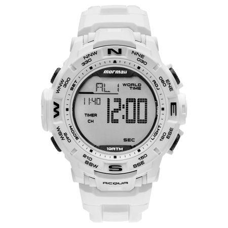 Relógio Mormaii Masculino Interestelar Branco MO1173E/8B