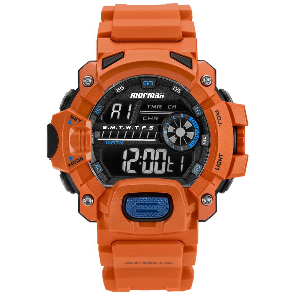 0ba10165e1 Relógio Mormaii Masculino Acquaforce Verde MOZM1132 8L - timecenter