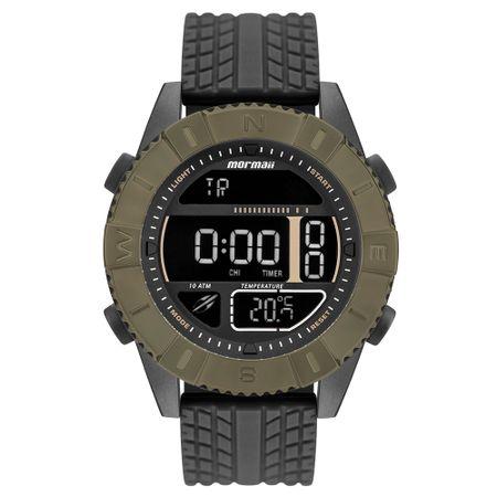 Relógio Mormaii Masculino Acquaforce Verde MO5334AB/8V