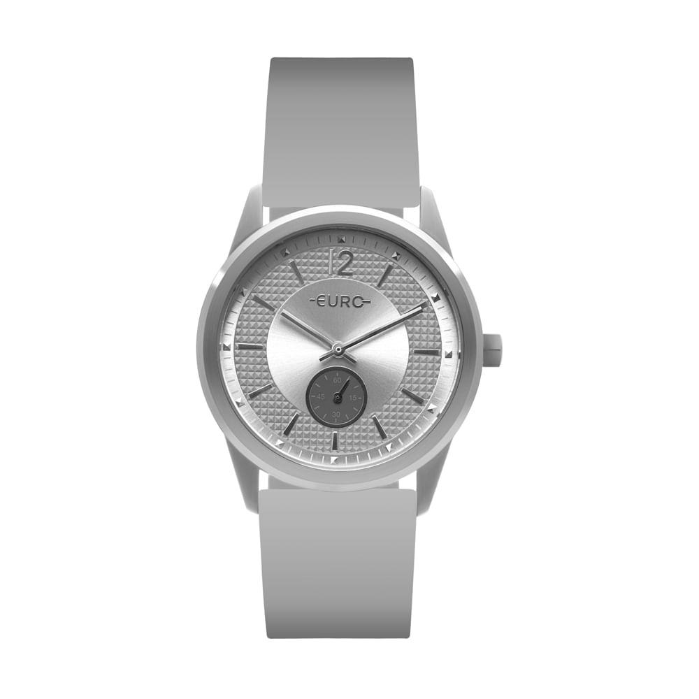 db861819c5c Relógio Euro Feminino Multi Basic Eyes Prata EU1L45AA 8K - timecenter