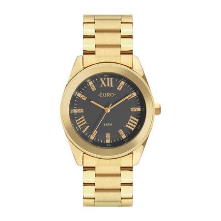 Relógio Euro Feminino Roman Shine Dourado EU2036YND/4C