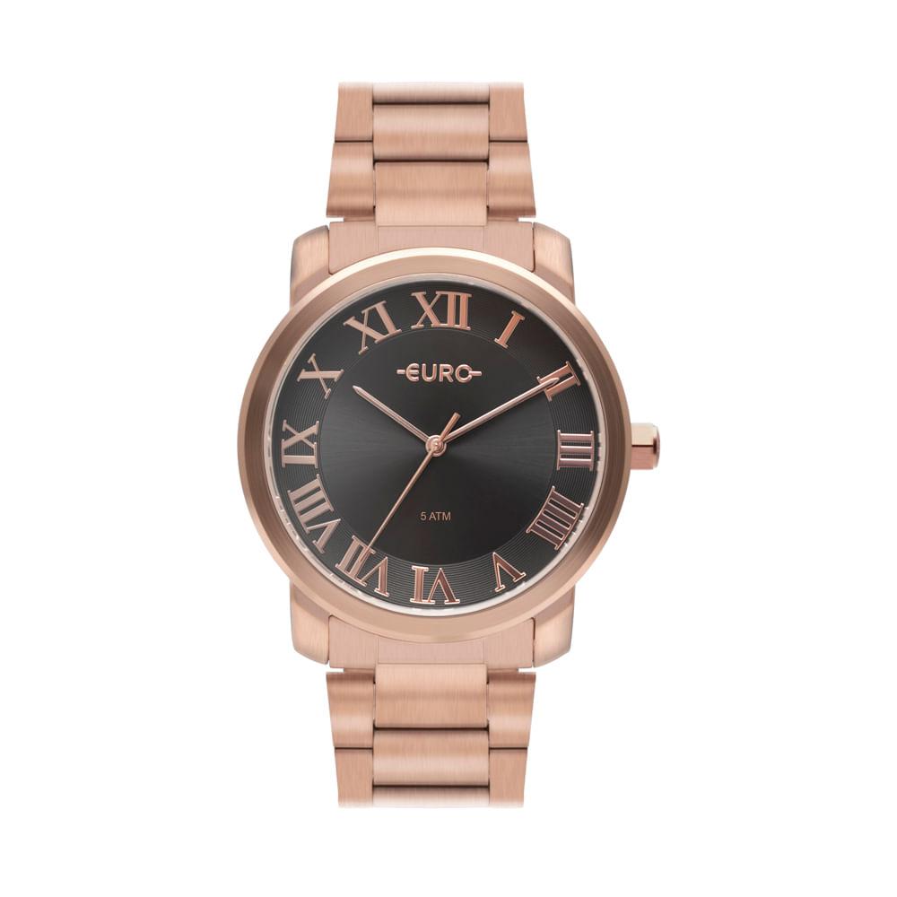 Relógio Euro Feminino Roman Basic Rosé EU2036YNO 4C - timecenter b1c03348cd