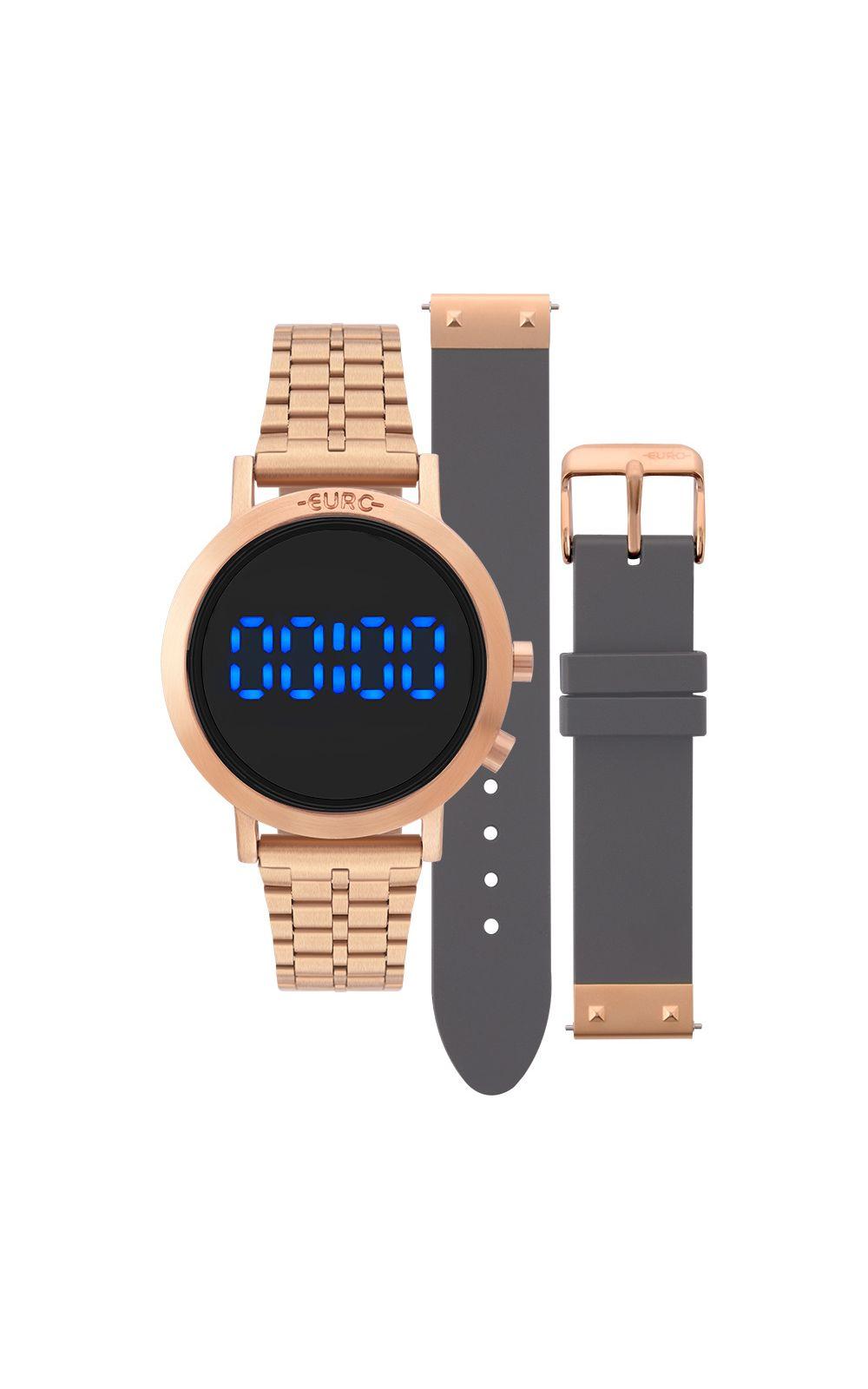 e9b9fd50b734a Relógio Euro Feminino Fashion Fit Rosé - EUBJ3407AC T4F   Opte+