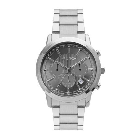 Relógio Euro Feminino Multi Basics Pushers Prata EUJP25AA/3C