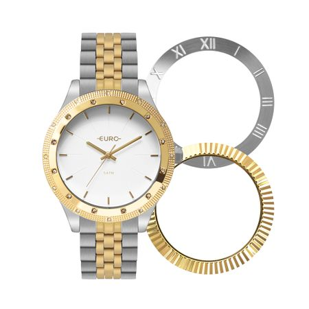 Relógio Euro Feminino Trio Glam Bicolor EU2035YPN/T5K