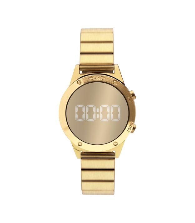 c94fabd7cde Relógio euro feminino fashion fit reflexos dourado eujhs bab jpg 625x715 Relogio  feminino preto importado