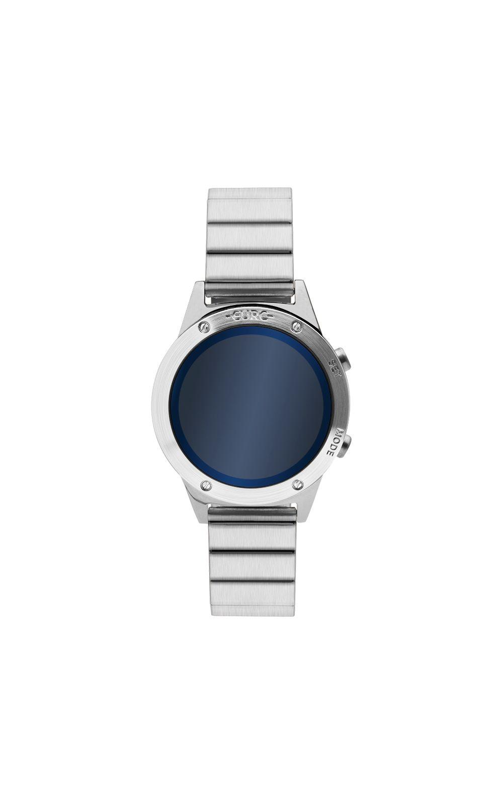 c1313d1da2b14 Relógio Euro Feminino Fashion Fit Reflexos Prata EUJHS31BAA 3A   Opte+