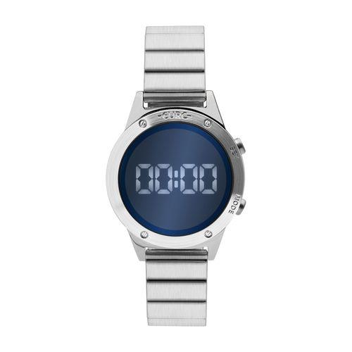 e6edbe0a71c Relógio Euro Feminino Fashion Fit Reflexos Prata EUJHS31BAA 3A