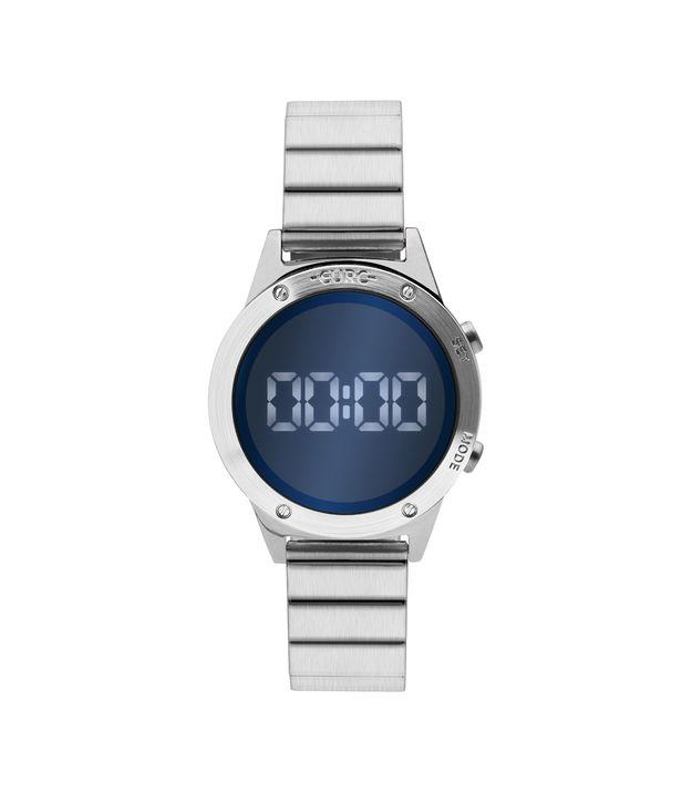 75b768c9961 Relógio Euro Feminino Fashion Fit Reflexos Prata EUJHS31BAA 3A