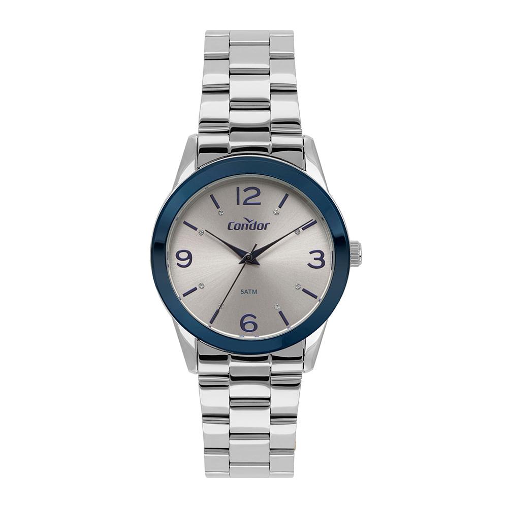 7b5c25536e5 Relógio Condor Feminino Bracelete Bicolor CO2036KUS K3C - timecenter