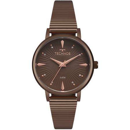 Relógio Technos Feminino Trend Marrom 2036MJY/4M